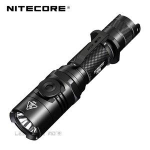 Image 1 - 2018 nitecore P26 1000ルーメンcree XP LハイV3 led無限可変輝度戦術的な懐中電灯