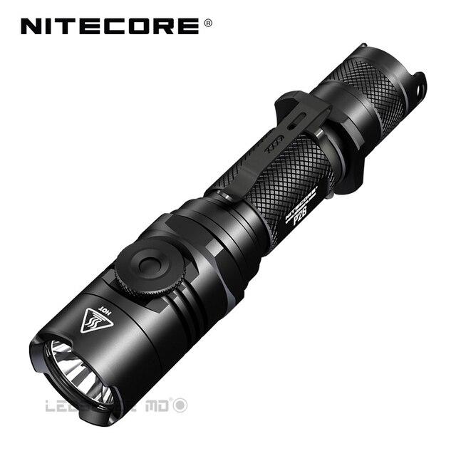2018 nitecore P26 1000ルーメンcree XP LハイV3 led無限可変輝度戦術的な懐中電灯