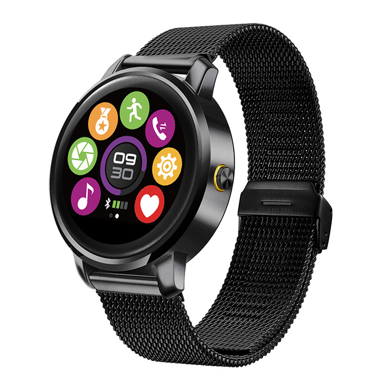 KINCO Bluetooth MTK2502A 240x204 1.22 inch 320mAH Heart Rate Sleep Monitor HFP Health Pedometer Smart Watch for IOS/Android kinco mtk 6580 512mb 8gb bluetooth camera gps smart watch phone heart rate sim pedometer sos smart watches for ios android