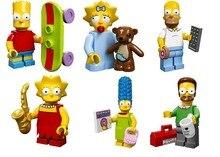 * Simpsons Figurine réglé * DIY éclairer bloc briques, Compatible Avec Lego Particules