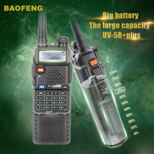 New Arrival Tri-Power 8W/4W/1W Two Way Radio Baofeng UV-5R plus Dual Band Walkie Talkie 3800 Baofeng Transceiver