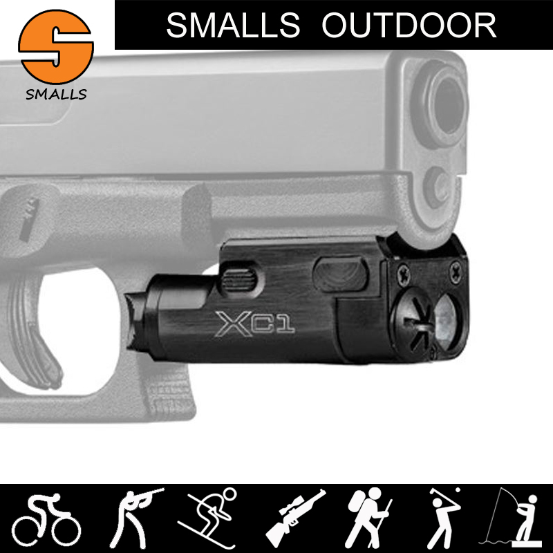 venda quente nova lanterna tatica sf xc1 led ultra compacto handgun luz se encaixa 20mm picatinny