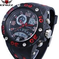 Top Brand 50M Waterproof Men Sports Watches Dual Digital Analog Display Alarm Stopwatch Relogios Desportivos Military