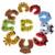 10 unids/set Puerta de Seguridad Del Bebé Niños Protector de Dibujos Animados Niño Borde de La Puerta Tapón Clip de Seguridad para Bebés Corner Protector Del Dedo