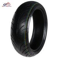 Motorcycle Tires 180 55 17 Vacuum Tire For Honda Yamaha Front Scooter Motorcycle Wheel Rim Tubeless Tyres 180 / 55ZR17 #b
