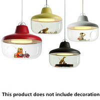Cartoon Mediterranean Led modern lighting chandeliers baby room Led chandelier ceiling kids 110V 220V Led chandelier