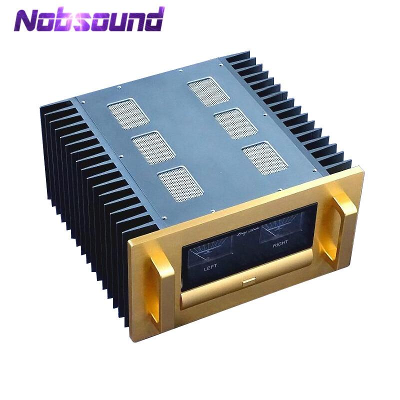 Nobsound High-end 400-Watt MOSFET Pure Power Amplifier Stereo HiFi Amp Perfect Inspired By E305 Circuit недорго, оригинальная цена