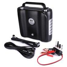 12 V Digital display Elektrische Auto Luft Kompressor Pumpe LED Licht Digital Aufblasbare Pumpe Doppel Zylinder Digital Auto Air Inflator