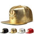 New Korean version of the flat -brimmed hat alloy diamond cannabina tide baseball cap hiphop hip-hop hip-hop hat wholesale