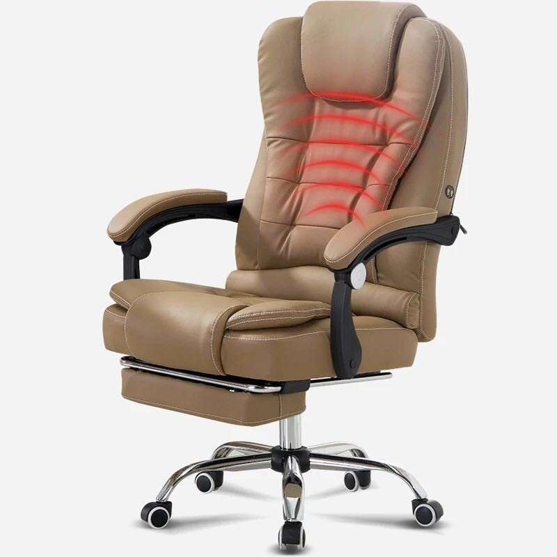 Household High Quality Office Gaming Computer Chair Noon Break Artificial Leather Chair Massage Comfortable Gamer Silla - 4