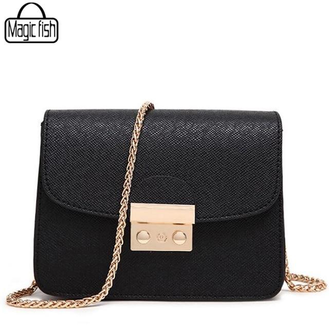 04faa284a3345 Berühmte Designer Frauen Tasche Kette Solide Frauen Handtaschen Mini Dame  Umhängetasche Mode Beiläufige Frau Messenger Bags