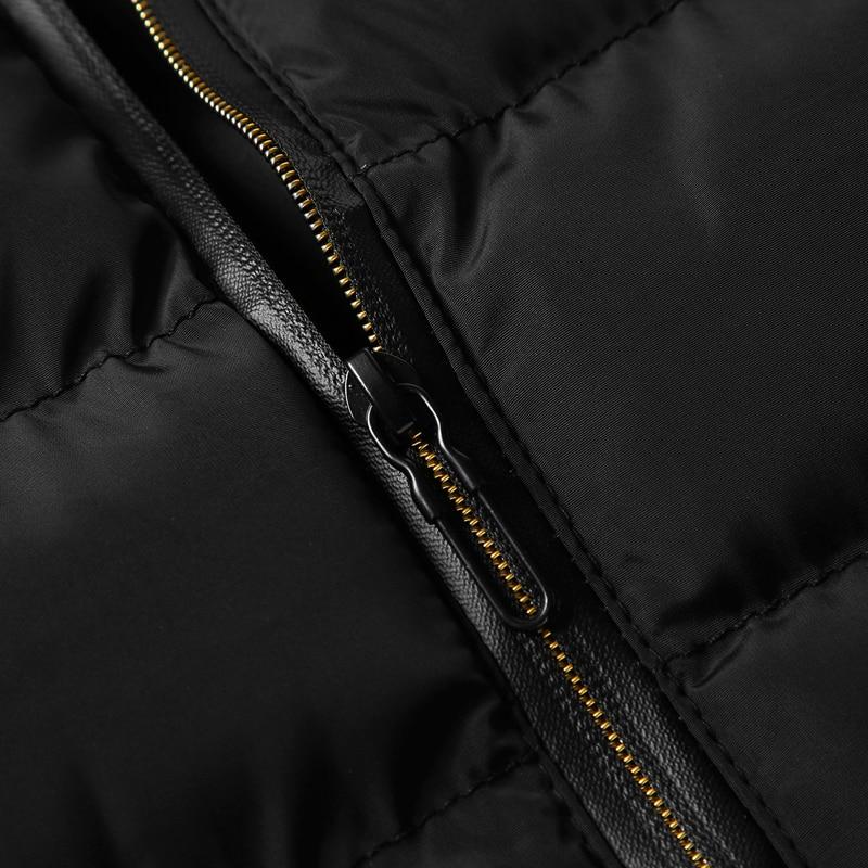 men\`s casual clothing fashion down jackets men leisure dress vests winter warm elegant korean streetwear trend coat vest for men (9)