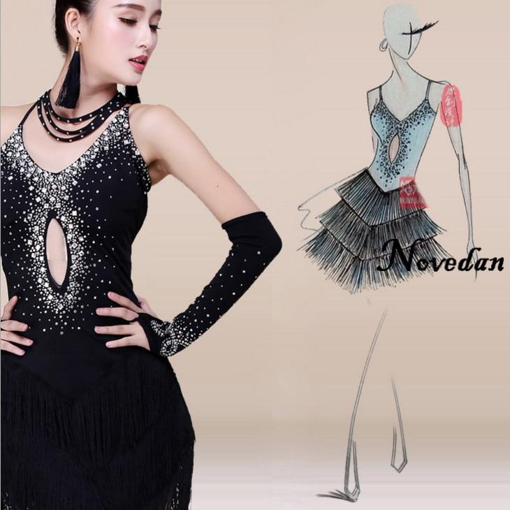 DB24382 latin dress for women-4_