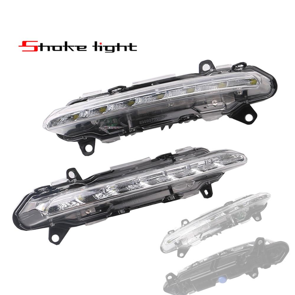 2x Destra + Sinistra LED DRL Daytime Running Light Per MERCEDES Classe S 2009-2013 W221 S350 S500 A2218201755 A2218201756