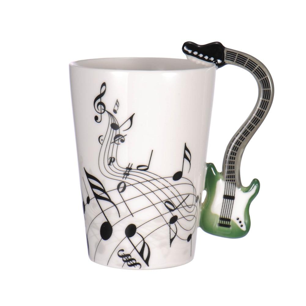 Creative Music Themed Ceramic Coffee Cups