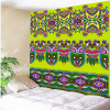 Green Colorful Floral Print Bohemia Tapestry Indian Tribe Decorative Mandala Tapestry 130cmx150cm 150cmx200cm Boho Wall Carpet