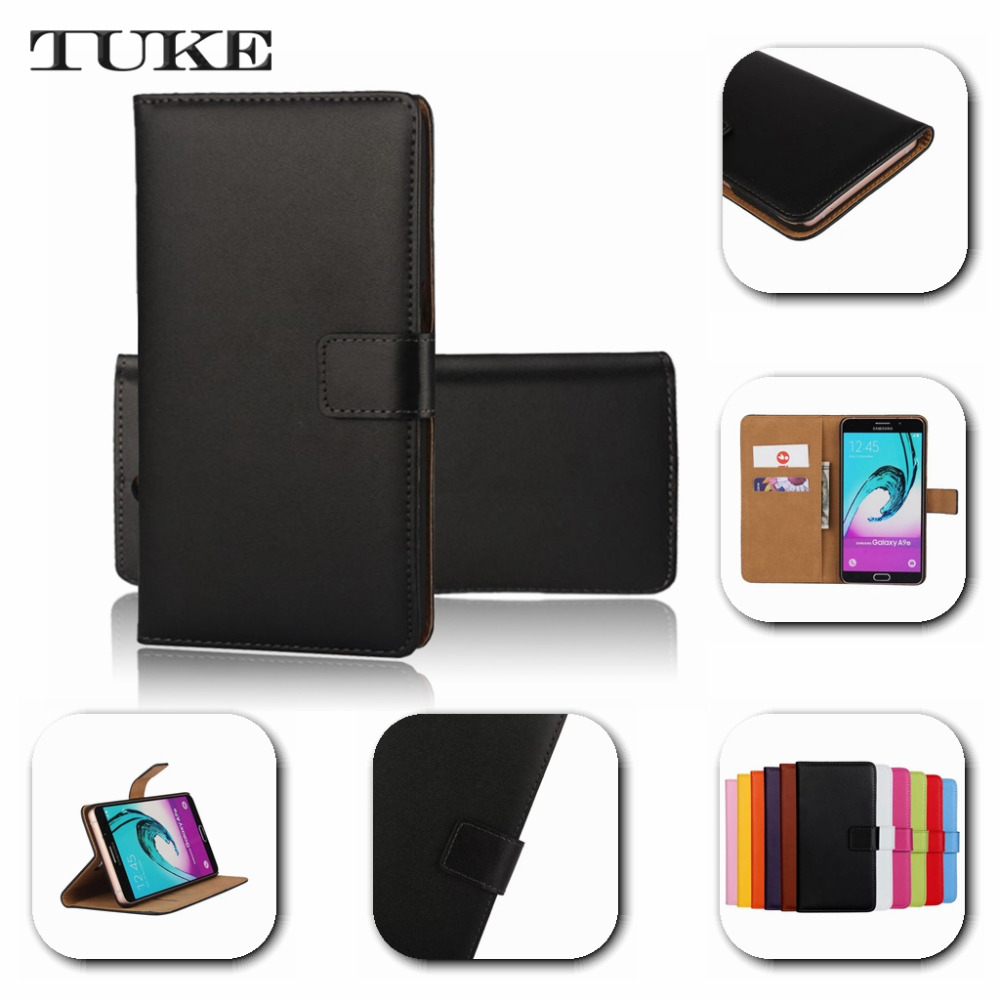 TUKE Stand Wallet Design Genuine Leather Case For SONY Xperia L S36H C2105 C2104