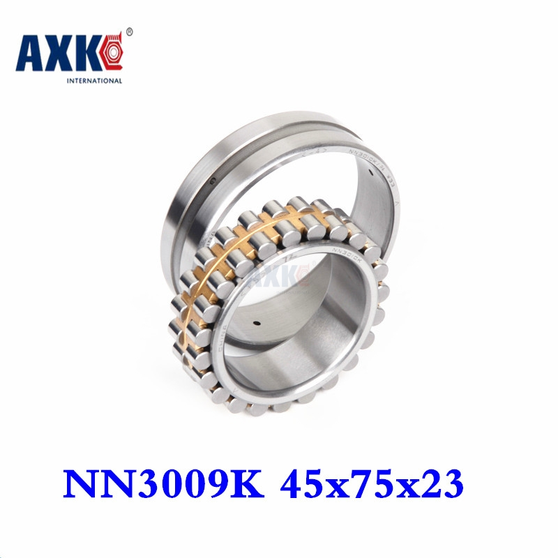 2018 1pcs Bearing Nn3009k Sp 3182109 45x75x23 Nn3009 3009 Double Row Cylindrical Roller Bearings High-precision Machine Tool 50mm bearings nn3010k p5 3182110 50mmx80mmx23mm abec 5 double row cylindrical roller bearings high precision