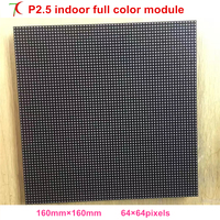 High refresh P2.5 indoor 16scan full color led board use for ultra led display,160*160mm ,P3/P4/P5/P6/P7.62/P10