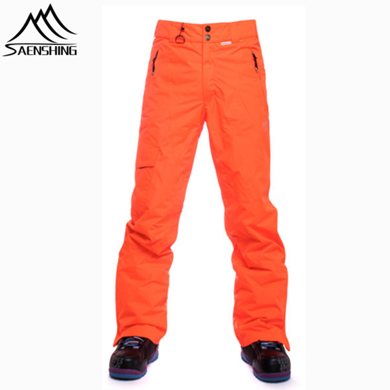 Saenshing winter ski pants men thicken warm waterproof skis trousers  breathable outdoor snow skiing pants sport snowboard pant d89cc86e1