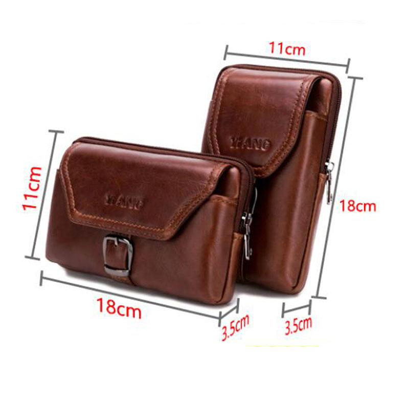 Men Waist Bag For Samsung Galaxy Note 9 S10plus Phone Cover For iPhone XS MAX Genuine Leather Mens Bag for Blackview BV9600 ProMen Waist Bag For Samsung Galaxy Note 9 S10plus Phone Cover For iPhone XS MAX Genuine Leather Mens Bag for Blackview BV9600 Pro