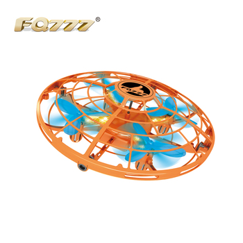 FQ14 Mini Drone Infrared Induction Hand Control UFO Altitude Hold RC Training Drone RC Quadcopter For Children Kids RC Toys Gift