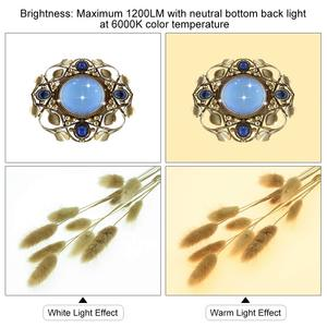 Image 4 - Mini 23cm/8Inch Photo Studio LED Light Box Photography Shadowless Panel Dimmable Softbox Bottom Light for Jewelry Cosmetic Craft
