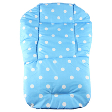 Amazing Baby thickness colorful stroller cushion child cart seat cushion cotton rainbow general cotton thick mat