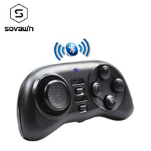 Mini Bluetooth Joystick Gamepad Nirkabel Universal Remote Controller Permainan Pad untuk Android Smart Phone Vr Kotak 3D Kacamata(China)