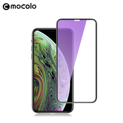 Mocolo Anti-Blue Ray 3D Premium Gebogen Glas Voor Iphone Xs Max Volledige Cover Screen Protector Gehard Glas Film voor Iphone Xs Xr