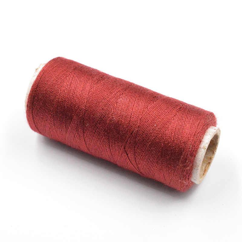 FLTMRH שעווה שעוות קו חוט כבל קרפט כלי יד תפרים עבור DIY עור 10 צבעים חוט