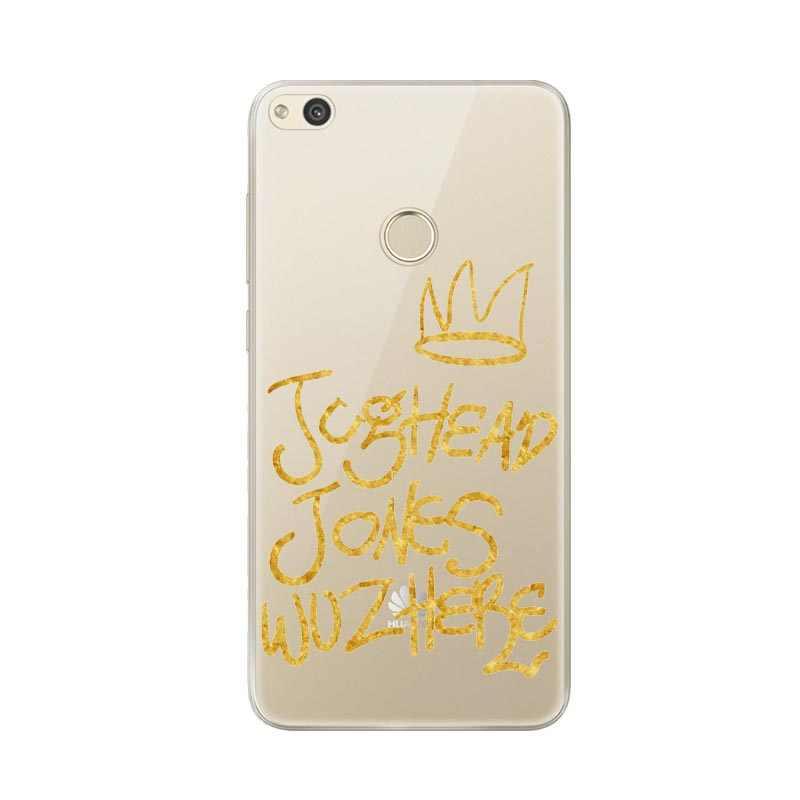 Ривердейл Southside змеи джагхеда Джонса прозрачный однотонный Мягкий силиконовый чехол для телефона чехол для Huawei P8 2017 P9 Lite P10 lite P10 плюс