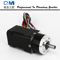 Gear bldc motor planetary reduction gearbox ratio 3:1 nema 17 60W 24V brushless dc motor