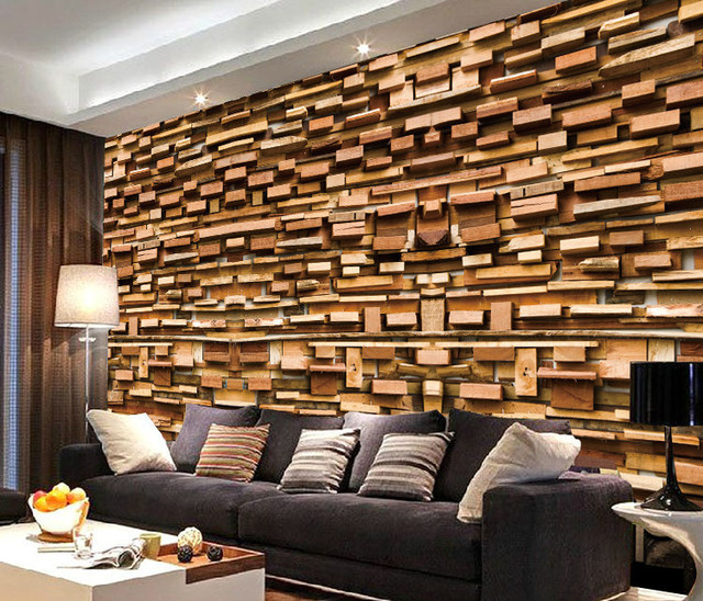 tapetenbahn papel de parede adesivo hintergrund tapeten wandbild tapete holz schlafzimmer tv. Black Bedroom Furniture Sets. Home Design Ideas