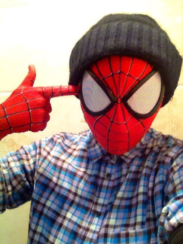 Takerlama Stunning Spider Man 2 Mask 3D Digital Printing