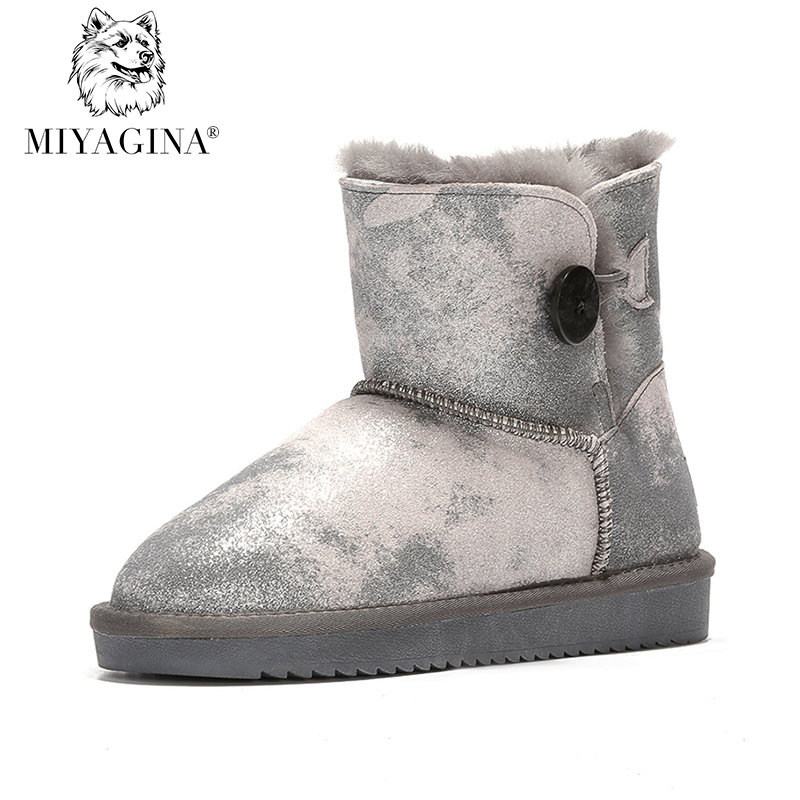 New Arrival Hot Sale Ankle Boots High Quality Genuine Leather Women's Classic Snow Boots New Brand Winter shoes free Shipping free shipping holiday sale new arrival free shipping winter and atumn cotton beanie hat kenmont brand high quality km 1363