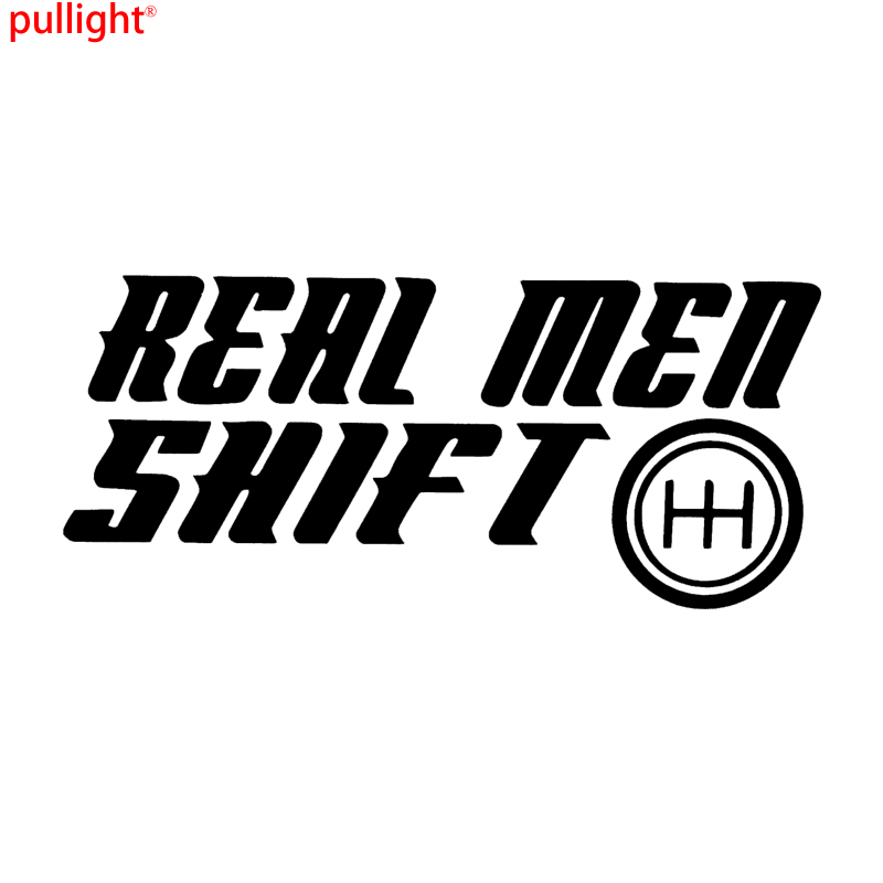 Real men shift save the manuals 5 6 speed car window vinyl