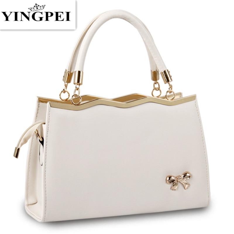 YINGPEI sieviešu somas ikdienas kārbām sievietēm PU ādas rokassomas modes sievietes Messenger somas somas slaveni zīmoli dizainers