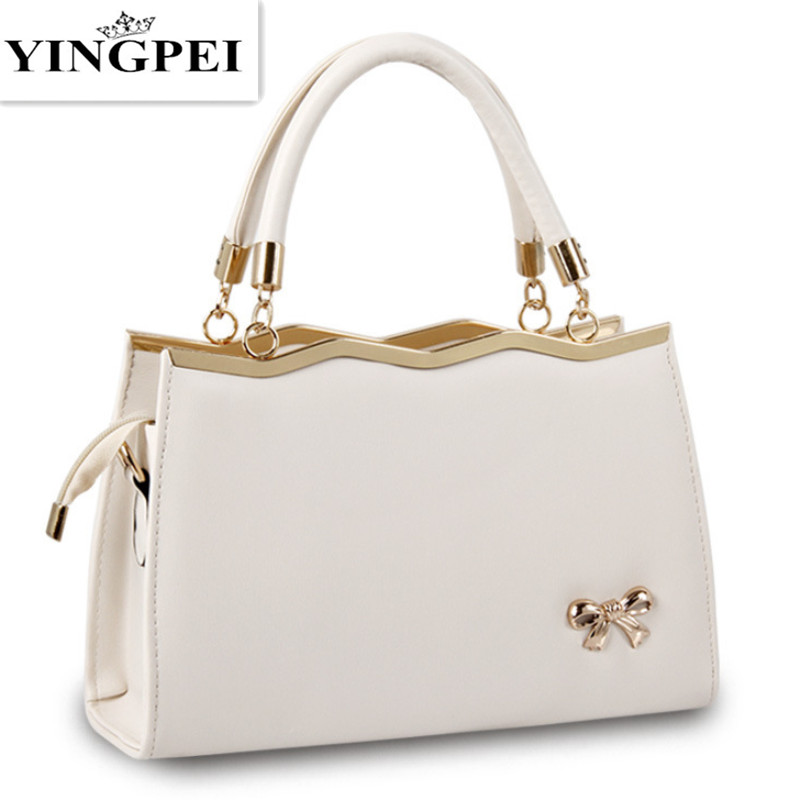 YINGPEI Women Bags Casual Tote Women PU Leather Handbags Fashion Women Messenger