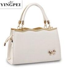 hot deal buy yingpei women bags casual tote women pu leather handbags fashion women messenger bags crossbody bags famous brands designer