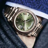 Heren Horloges Top Brand Luxe Dag Datum Quartz Horloge Mannen Waterdichte Casual Mode Polshorloge Rol Horloge 2011 Nieuwe Reloj hombre
