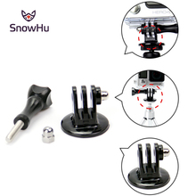 GoPro Accessories 1/4 Tripod Mount Adapter + Screw Nut for HD Camera Hero 4 3+ 3 1 GP56 Free shipping