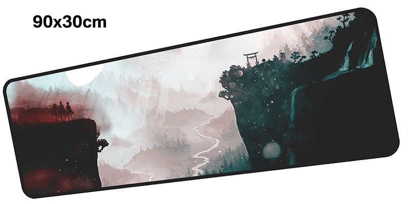 Attack on Titan mouse pad gamer 900x300mm notbook mouse mat gaming mousepad Customized pad mouse PC desk padmouse accessories