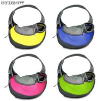 SYDZSW Pet Carrier Single-shoulder Pet Bags for Chihuahua Dogs Cats Puppy Messenger Bags Outdoor Pet Supplies Dog Products S L
