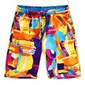 2017 Шорты мужской летней досуг прилив летом сезон пляж мужские шорты купальники мягкие удобные дышащие мужчины шорты
