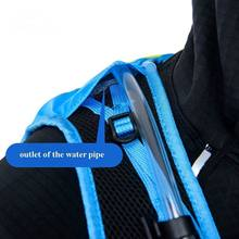 12L Outdoor Ultralight Vest Style Hydration Pack Running Backpack Softback Water Bottle Backpacks Biking Cycling Hiking Climbing
