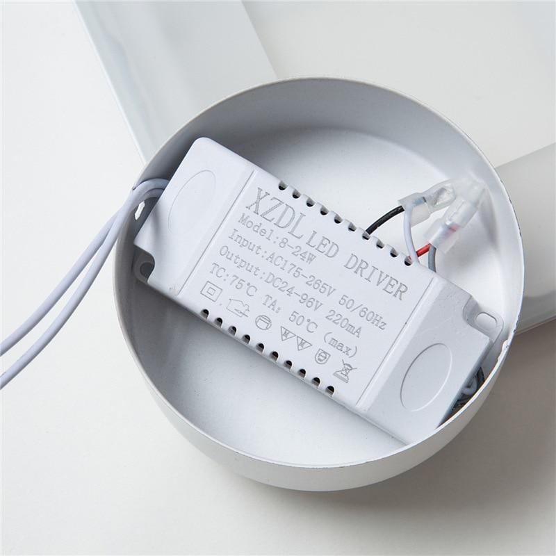Moderna lâmpada de parede led lâmpada cabeceira