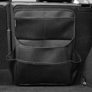 Image 5 - Novo organizador carro saco de armazenamento mala Do Carro saco de rede espessamento material de caixa de armazenamento organizador do assento de carro à prova d água frete grátis