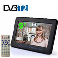 HD TV DVB-T2 DVB-T 9 Inch Digital And Analog TV Receiver And TF Card And USB Audio And Video Playback Portable DVB-T2 Television