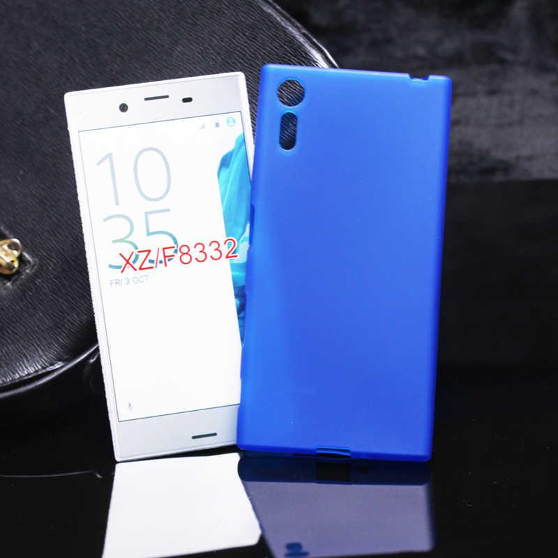 Molle di TPU Cassa Del Telefono Del Silicone Per Sony Xperia L2 Z5 XZ Premium XZ1 XZ2 XZ3 Compatto XA XA1 Più XA2 XA3 XA Z5 Pieno Opaca della cassa Del Telefono